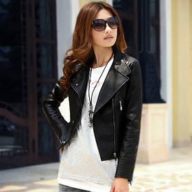 Куртки женские кожзам