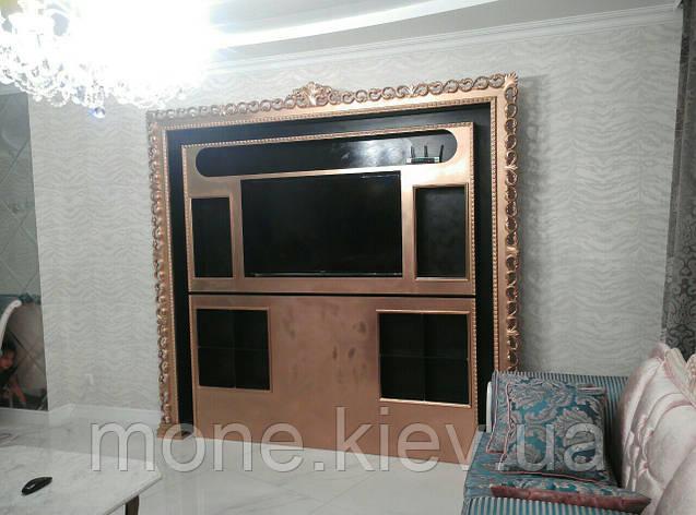 Стенка в гостиную в классическом стиле, фото 2