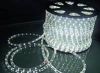Светодиодный дюралайт LED белый холодный 100м