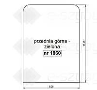 СТЕКЛО HITACHI ZX110 ZX130 ZX160 ZX180 ZX200LC ZX210 ZX225USLC ZX230LC ZX240 ZX270LC ZX330 -ВЕРХНЯЯ ПЕРЕДНЯЯ