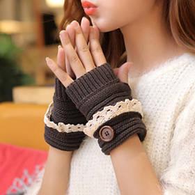 Женские перчатки, варежки, митенки