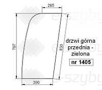 СТЕКЛО HITACHI ZX110-3 ZX120-3 ZX160-3 ZX180-3 ZX200-3 ZX210-3 ZX240-3 ZX250-3 ZX270-3 ZX280-3-ВЕРХНЯЯ ПЕРЕДНЯ