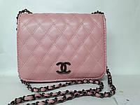 """Восхитительная нежно- розовая сумка """"Chanel"""""""