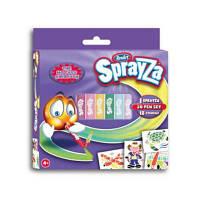 Набор для творчества Renart Мини набор №20 серии SprayZa: 20 фломастеров, 12 трафаретов (SA3306UK(UA))