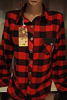 Женская рубашка шерсть оптом