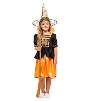 Карнавальный костюм Ведьмы на девочку 4-10 лет
