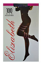 Колготки Elizabeth 100 den microfibre visone (бежевые), фото 3