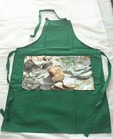Кухонные фартуки 4 штуки  Arya Green    (коричневый, красный, зеленый и синий)
