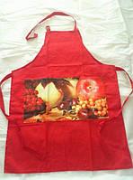 Кухонные фартуки 4 штуки  Arya Summer Taste   (коричневый, красный, зеленый и синий)