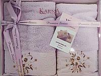 """Набор полотенец подарочный """"Вышивка"""" Karna, фото 1"""