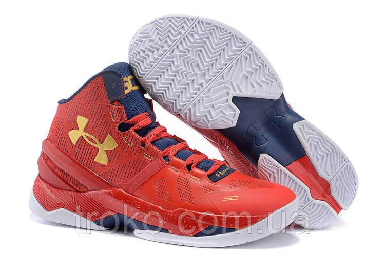 Кроссовки Under Armour 3C CURRY 2 DRIVE Red