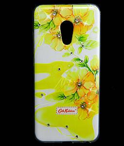 Чехол накладка для Meizu PRO 6 силиконовый Diamond Cath Kidston, Sun Flowers