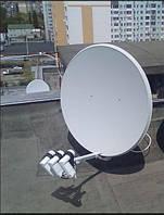 Установка спутниковой антенны на 1 тв с вашим оборудованием