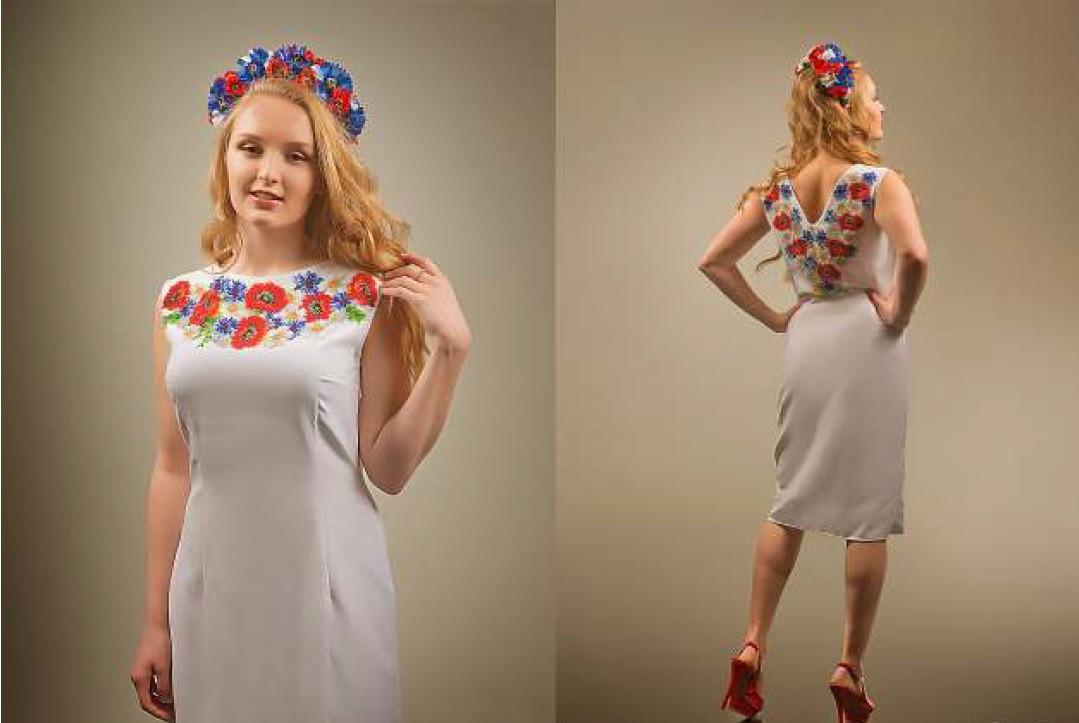 Вишиванки Жіночі Плаття Бісером Фото bc56f9d4eca2c