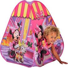 Корзины для игрушек, игровые палатки