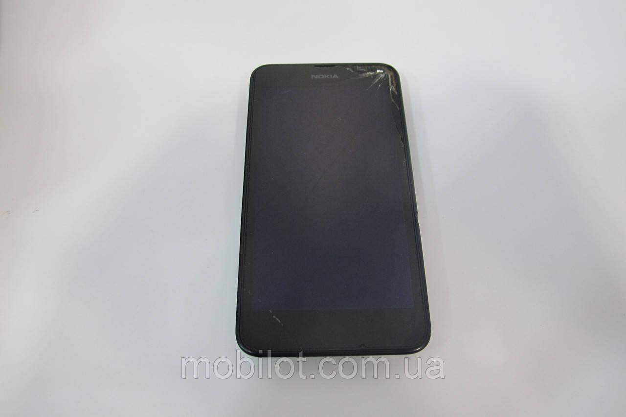 Мобильный телефон Nokia Lumia 630 Quad Core Dual Sim Black (TZ-1063)