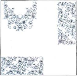 Заготовка для вишивки жіночого плаття-вишиванки під бісер (БС-55с)