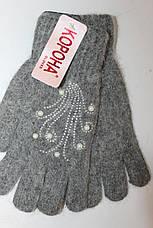 Перчатка женская Корона № 7311 (уп 12 шт) , фото 2