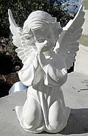 Скульптура из полимера Ангелочек молящийся 27 см, фото 1