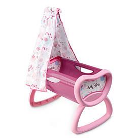 Кроватка для кукол с балдахином Smoby Baby Nurse 220301