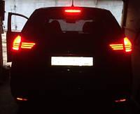 Nissan X-trail T32 оптика задняя тюнинг LED светодионая красная