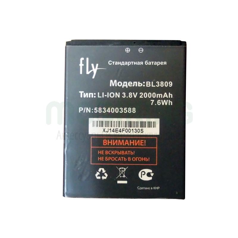 Оригинальная батарея на Fly IQ458/IQ459 (BL3809) для мобильного телефона, аккумулятор для смартфона.