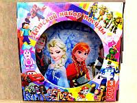 """Набор детской посуды """"Любимые мультфильмы"""" L-2202"""