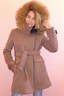 Детское зимнее пальто кашемировое