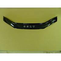 Дефлектор капота Mitsubishi Colt с 1996–2002 г.в. (Митсубиси кольт) Vip Tuning