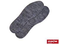 Стелька для обуви фетровая BR-INS-FIL