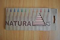 Карандаши цветные Marco Natural 12 штук