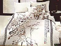 Комплект постельного белья евро сатин  3d