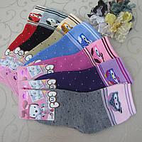 """Носки махровые для девочек M (26-31 р.). """"Корона"""" . Детские  носки, носочки махровые  для детей , фото 1"""
