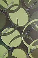 """Рельефный ковер, дорожка Арда """"Ободок"""", цвет зеленый"""