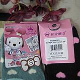 """Носки махровые для девочек S (21-26 р.). """"Корона"""" . Детские  носки, носочки махровые  для детей , фото 2"""