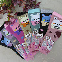 """Носки махровые для девочек S (21-26 р.). """"Корона"""" . Детские  носки, носочки махровые  для детей , фото 1"""