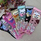 """Носки махровые для девочек S (21-26 р.). """"Корона"""" . Детские  носки, носочки махровые  для детей , фото 4"""