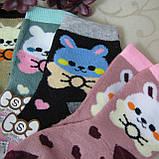 """Носки махровые для девочек S (21-26 р.). """"Корона"""" . Детские  носки, носочки махровые  для детей , фото 5"""