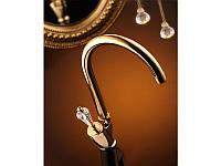 Смеситель на кухню Venezia-Diamonod Gold, смеситель для кухни