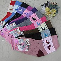 """Носки махровые для девочек L (31-36 р.). """"Корона"""" . Детские  носки, носочки махровые  для детей , фото 1"""