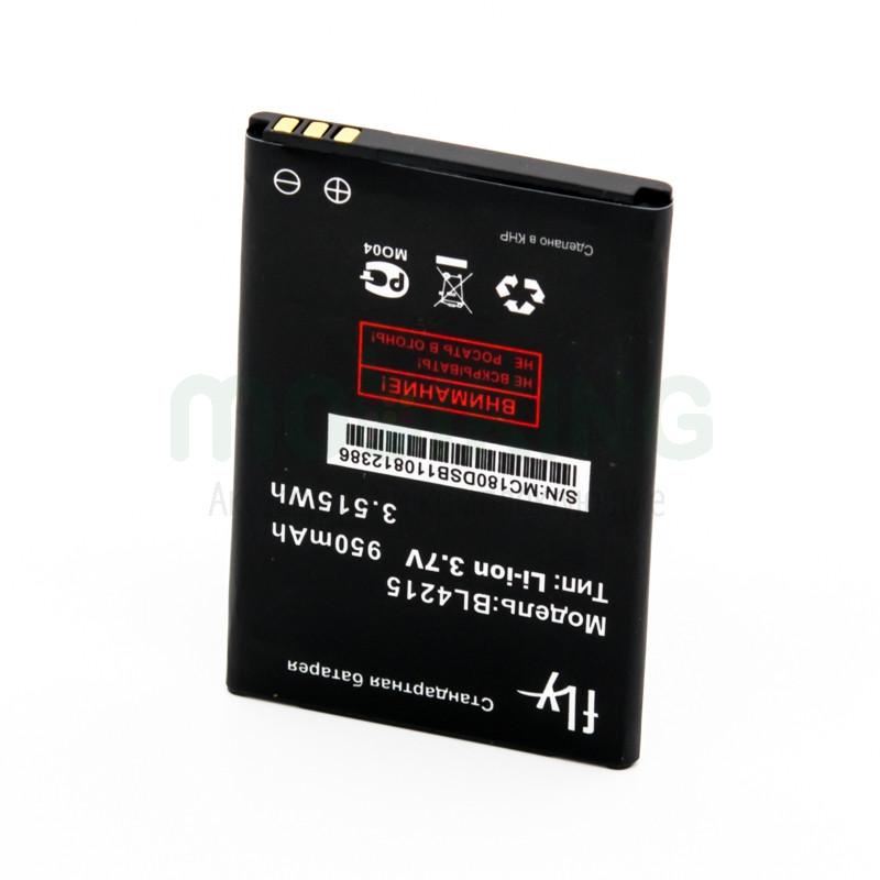 Оригинальная батарея на Fly Q115/MC180 (BL4215) для мобильного телефона, аккумулятор для смартфона.