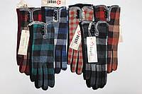 Перчатки женские Клетка № 3 (уп 12 шт) , фото 1