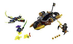 LEGO Ninjago Мотоцикл Бластер Коула Blaster Bike Building Kit 70733