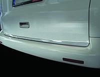 Volkswagen T5 рестайлинг 2010-2015 гг. Кромка багажника (нерж.) Распашные двери