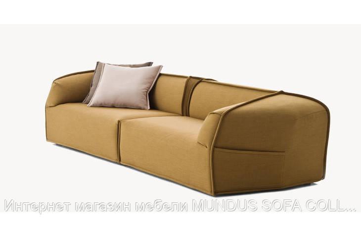 Диван кожаный мод. Compos - Интернет магазин мебели MUNDUS SOFA COLLECTION в Закарпатской области