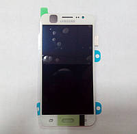 Дисплей модуль SAMSUNG Galaxy J5 2015 J500 WHITE GH97-17667A белый оригинал
