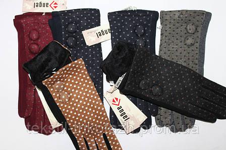 Перчатки женские Горох № 2 (уп 12 шт) , фото 2