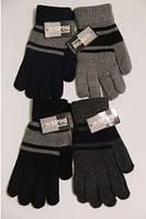 Теплые перчатки для мальчиков, взрослая группа (школа)