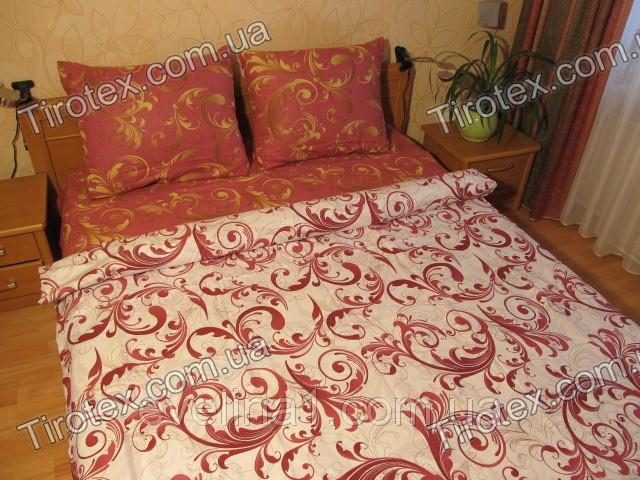 Спальный комплект 1,5 спальный из бязи микс