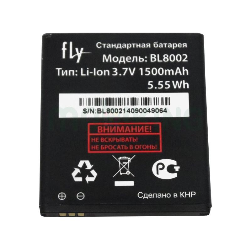 Оригинальная батарея на Fly IQ4490i (BL8002) для мобильного телефона, аккумулятор для смартфона.